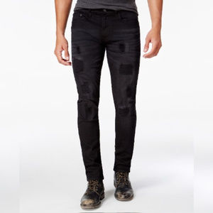 Ring of Fire Slim Fit Stretch Destructed Jeans
